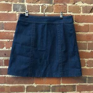 NWT Loft Denim Mini Skirt